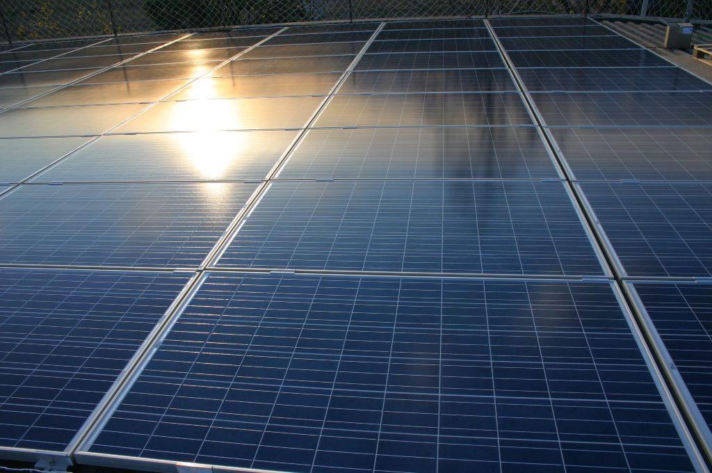 modulos fotovoltaicos reflexo
