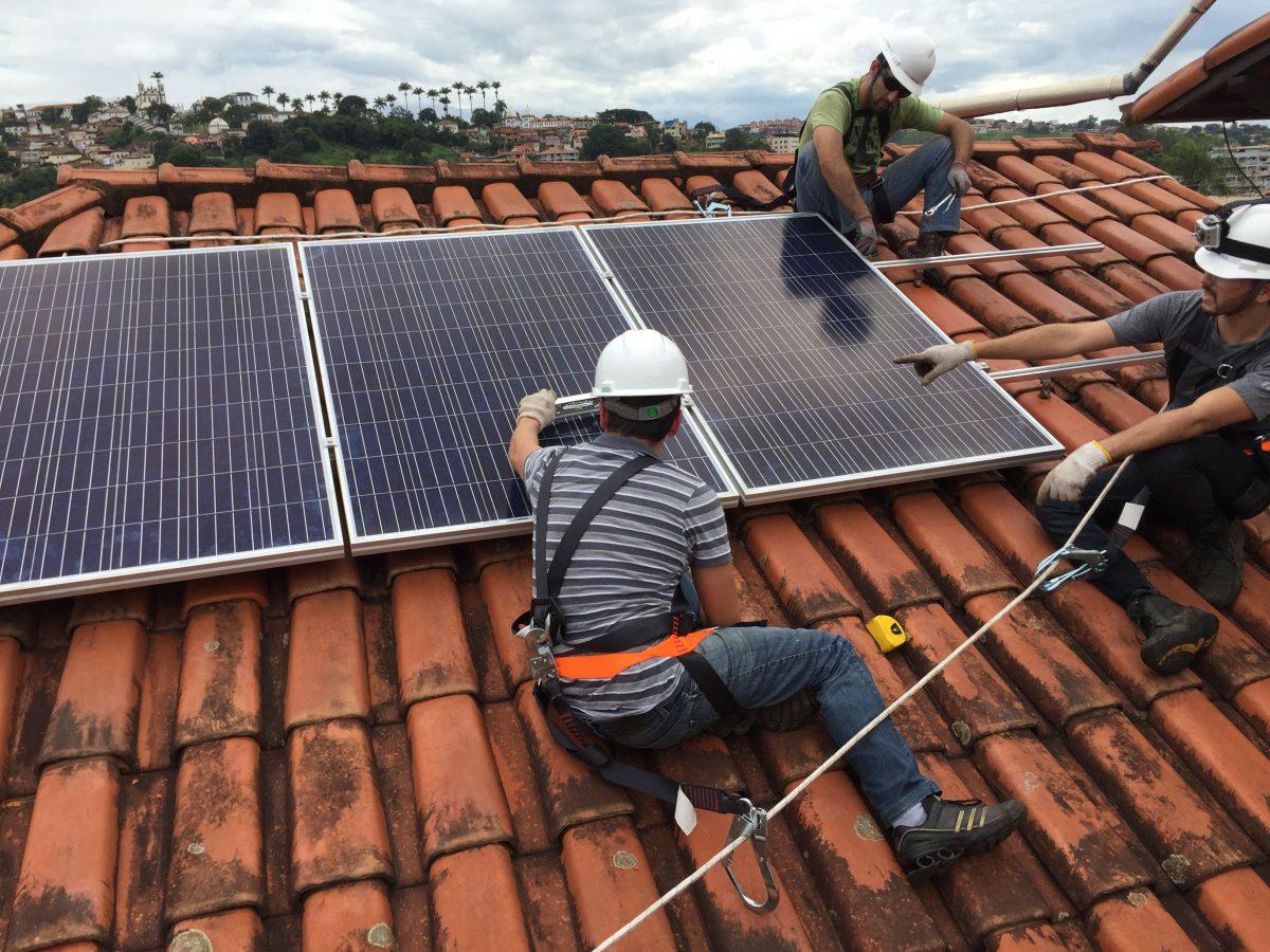 Sistema solar fotovoltaico Congonhas