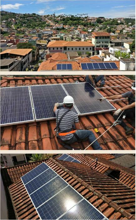 instalaçao sistema fotovoltaico congonhas