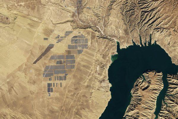 Maior fazenda solar do mundo