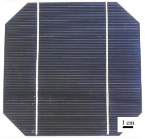 Célula fotovoltaica Si monocristalino