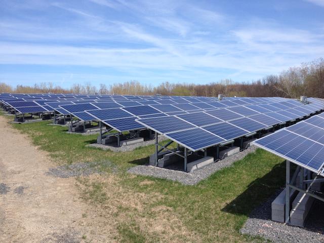 sistema fotovoltaico solo